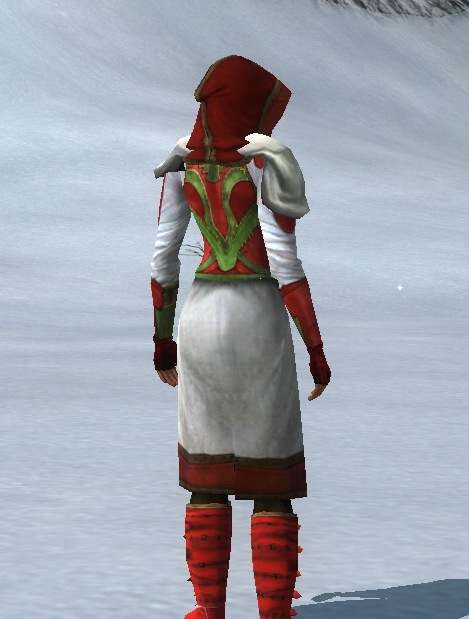 White Yule full back